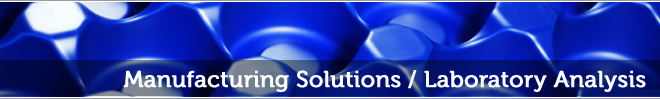 Manufacturing Solutions: Laboratory Analysis